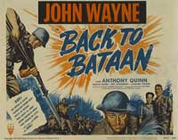 Back to Bataan - 11 x 14 Movie Poster - Style B