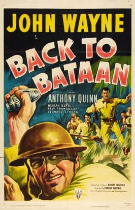 Back to Bataan - 11 x 17 Movie Poster - Style C