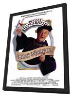 Back to School - 11 x 17 Movie Poster - Style A - in Deluxe Wood Frame