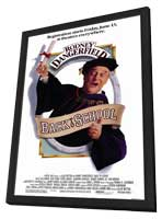 Back to School - 27 x 40 Movie Poster - Style A - in Deluxe Wood Frame