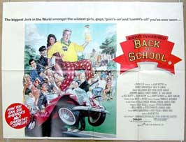 Back to School - 11 x 17 Movie Poster - UK Style A