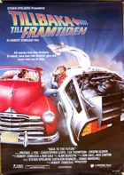 Back to the Future - 11 x 17 Movie Poster - Swedish Style A