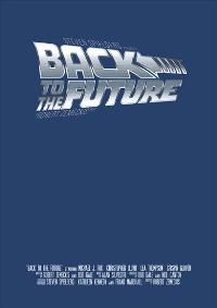 Back to the Future - 43 x 62 Movie Poster - Bus Shelter Style A