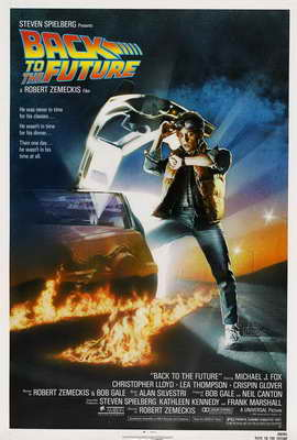 Back to the Future - 27 x 40 Movie Poster