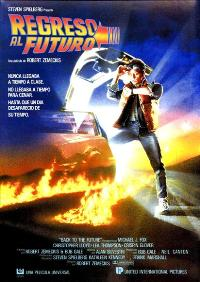 Back to the Future - 27 x 40 Movie Poster - Spanish Style A