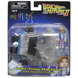 Back to the Future - 2 Time Machine Minimates Vehicle