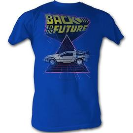 Back to the Future - Speed Demon Blue T-Shirt