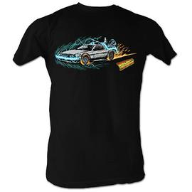 Back to the Future - Into Time Painting Black T-Shirt