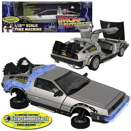 Back to the Future - II DeLorean Vehicle - EE Exclusive