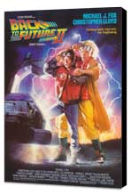 Back to the Future, Part 2 - 27 x 40 Movie Poster - Style A - Museum Wrapped Canvas