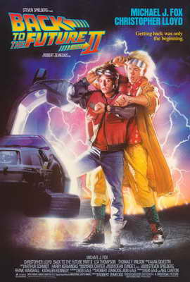Back to the Future, Part 2 - 27 x 40 Movie Poster - Style A