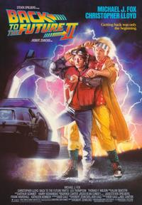 Back to the Future, Part 2 - 43 x 62 Movie Poster - Bus Shelter Style A
