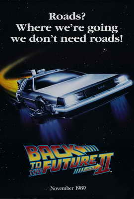 Back to the Future, Part 2 - 27 x 40 Movie Poster - Style D