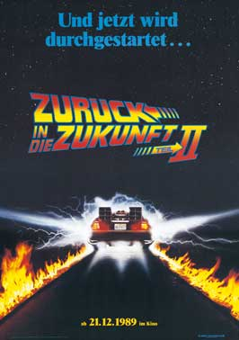Back to the Future, Part 2 - 27 x 40 Movie Poster - German Style A