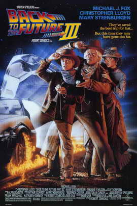Back to the Future, Part 3 - 11 x 17 Movie Poster - Style A