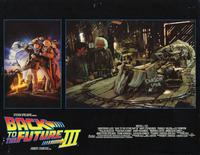 Back to the Future, Part 3 - 11 x 14 Movie Poster - Style B