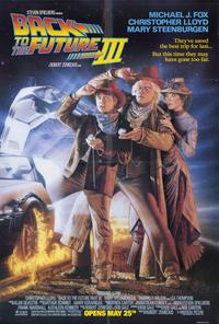 Back to the Future, Part 3 - 11 x 17 Movie Poster - Style B