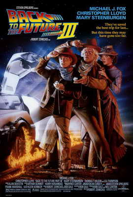 Back to the Future, Part 3 - 27 x 40 Movie Poster - Style A