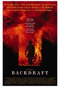 Backdraft - 43 x 62 Movie Poster - Bus Shelter Style A