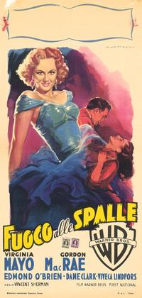 Backfire - 11 x 17 Movie Poster - Italian Style A