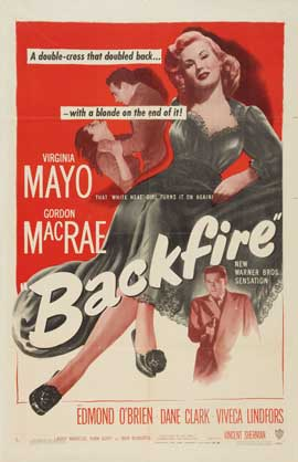 Backfire - 11 x 17 Movie Poster - Style A