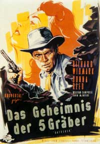 Backlash - 11 x 17 Movie Poster - German Style A