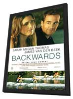Backwards - 11 x 17 Movie Poster - Style A - in Deluxe Wood Frame