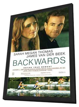 Backwards - 27 x 40 Movie Poster - Style A - in Deluxe Wood Frame