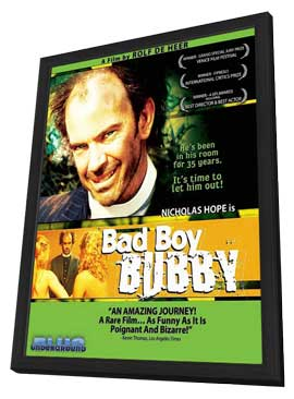 Bad Boy Bubby - 11 x 17 Movie Poster - Style A - in Deluxe Wood Frame