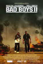 Bad Boys II - 27 x 40 Movie Poster - Style B