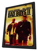 Bad Boys II - 27 x 40 Movie Poster - Style A - in Deluxe Wood Frame