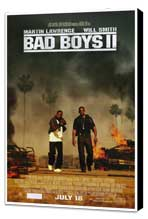 Bad Boys II - 27 x 40 Movie Poster - Style B - Museum Wrapped Canvas
