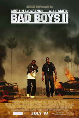 Bad Boys II - 11 x 17 Movie Poster - Style B