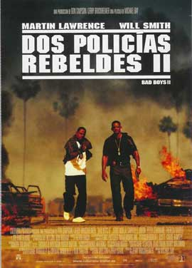 Bad Boys II - 27 x 40 Movie Poster - Spanish Style A