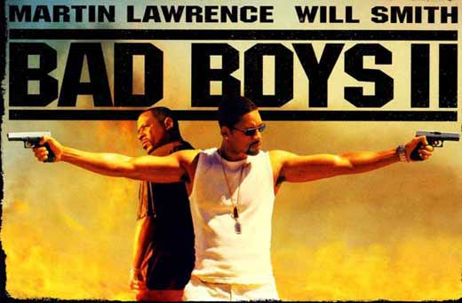 bad boys ii movie posters from movie poster shop. Black Bedroom Furniture Sets. Home Design Ideas