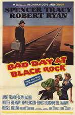 Bad Day at Black Rock - 11 x 17 Movie Poster - Style B