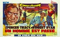 Bad Day at Black Rock - 14 x 22 Movie Poster - Belgian Style B