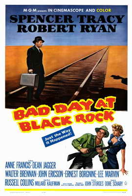 Bad Day at Black Rock - 27 x 40 Movie Poster - Style A