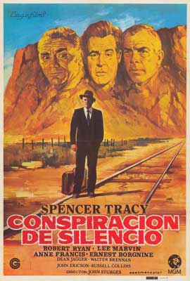 Bad Day at Black Rock - 27 x 40 Movie Poster - Italian Style A