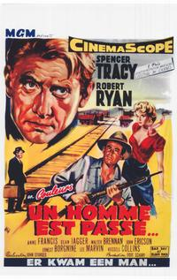 Bad Day at Black Rock - 14 x 22 Movie Poster - Belgian Style A