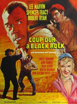Bad Day at Black Rock - 11 x 17 Movie Poster - French Style A