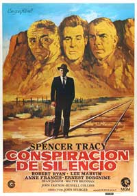 Bad Day at Black Rock - 11 x 17 Movie Poster - Spanish Style A