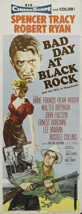 Bad Day at Black Rock - 14 x 36 Movie Poster - Insert Style A