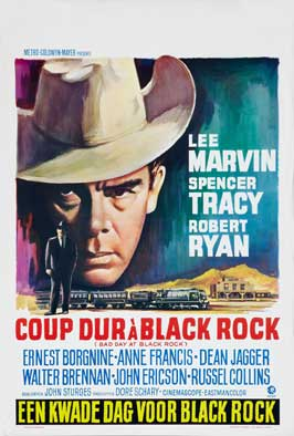 Bad Day at Black Rock - 11 x 17 Movie Poster - Belgian Style B