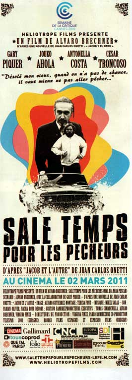 Bad Day to Go Fishing - 14 x 36 Movie Poster - French Style A