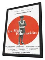 Bad Education - 27 x 40 Movie Poster - Spanish Style A - in Deluxe Wood Frame
