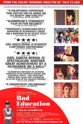 Bad Education - 11 x 17 Movie Poster - Style B