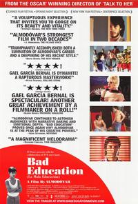 Bad Education - 27 x 40 Movie Poster - Style B