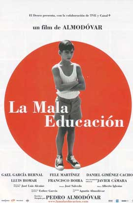 Bad Education - 11 x 17 Movie Poster - Spanish Style A