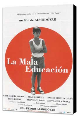 Bad Education - 27 x 40 Movie Poster - Spanish Style A - Museum Wrapped Canvas